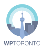 WordPress Toronto Meetup (WPTO) log image.