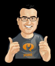 Yoast SEO logo image.