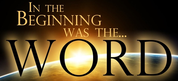 In the beginning was the word image.