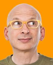 Seth Godin bio image.