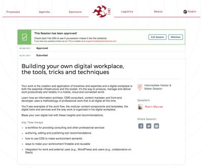 Podcamp 2017 digital workplace session description image.