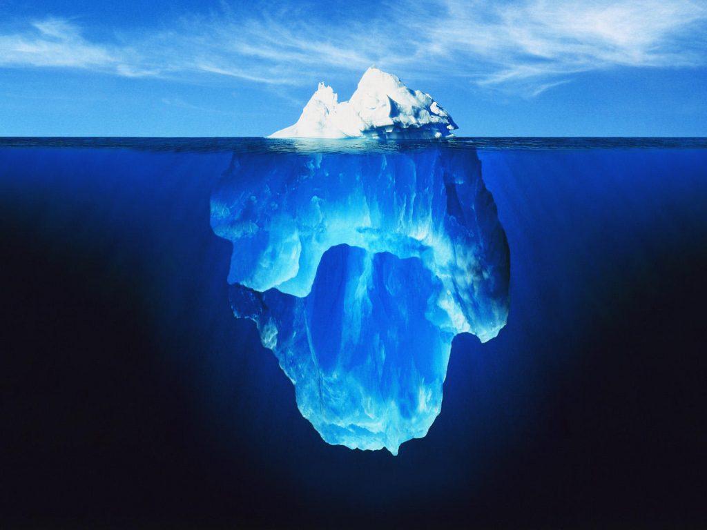 Iceberg image.